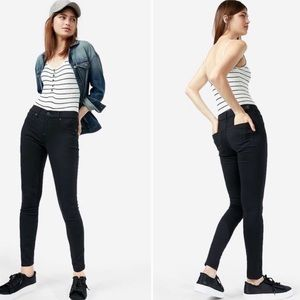 [Express] Black Low Rise Extreme Stretch Jeans